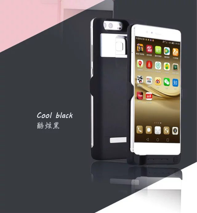imágenes para 4500 mah Recargable de Reserva Externo Del Cargador de Batería Para Huawei P9 Cargador de Batería Externo Del Banco de la Energía