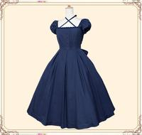 2017 Summer Gothic lolita Many colors Short sleeve Lolita dress