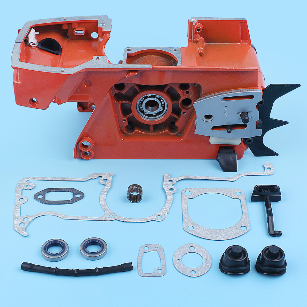 Engine Housing Crankcase Gaskets Repair Kit For Husqvarna 61 66 266 268 272 272XP Chainsaw Replacement Spare Part 501779901