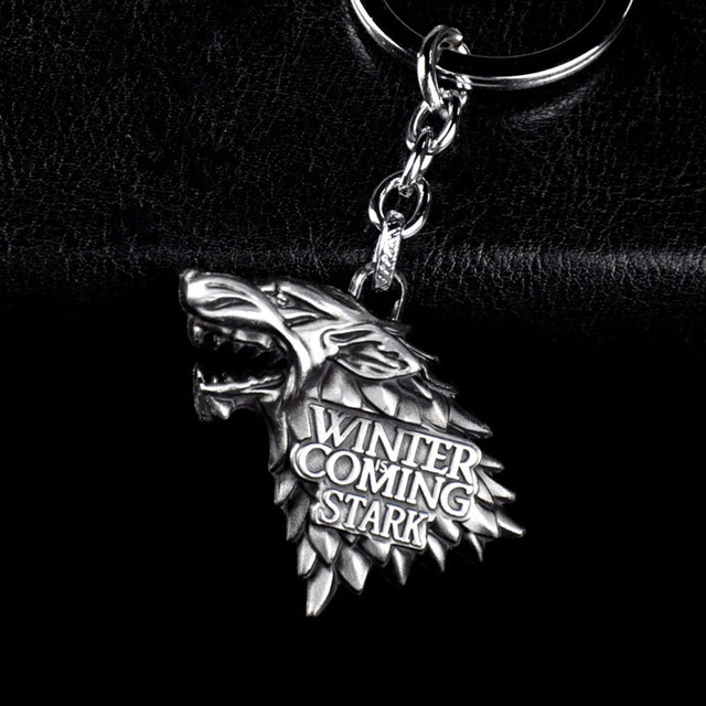 Game of Thrones Wolf Figure 10pcs/set Keychain