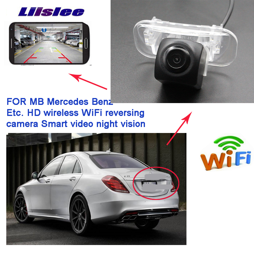 New Arrival! Car wireless Reverse camera for <font><b>Mercedes</b></font> Benz A Class <font><b>W169</b></font> A160 A180 A200 A150 <font><b>A170</b></font> B Class W245 waterproof Full HD image