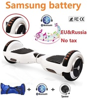 6 5 Inch Electric Scooter Self Balancing Scooter 2 Wheel Electric Standing Scooter Skateboard Hoverboard Bluetooth