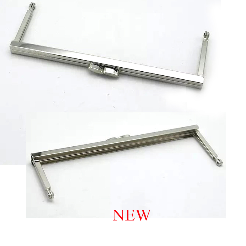 Metal Purse Frame - 8 inch bag frame DIY Purse Hardware