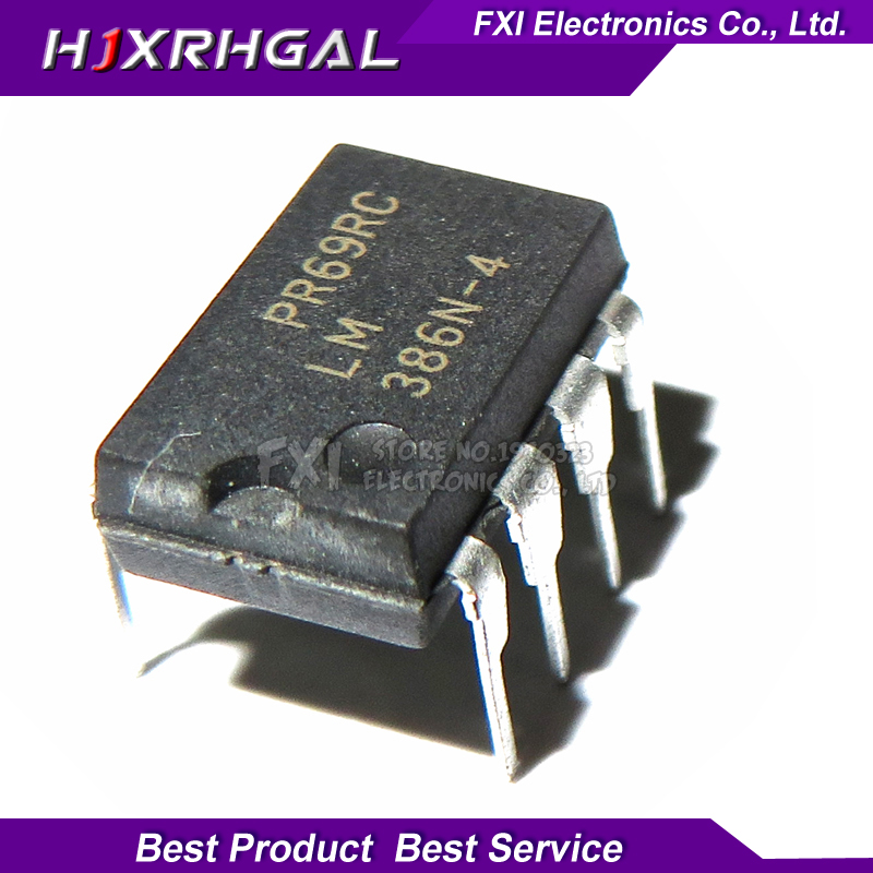 10PCS LM386N DIP8 LM386 DIP LM386N-1 LM386-1 Operational Amplifier New Original