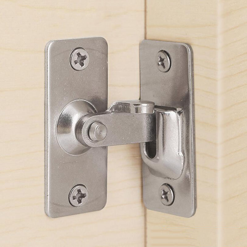 90 Degree Stainless Steel Door Buckle Outfit Sliding