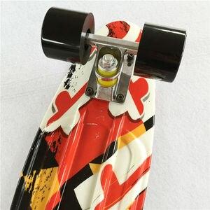 Image 4 - Nouveauté 22 pouces bonne qualité peny board pour fille et garçon pour profiter de la planche à roulettes Mini fusée de haute qualité