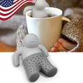 5 pcs/lot Mr Tea Silicone infuser Throw Some Tea in the Trousers Hang Out Food Grade Free Shipping