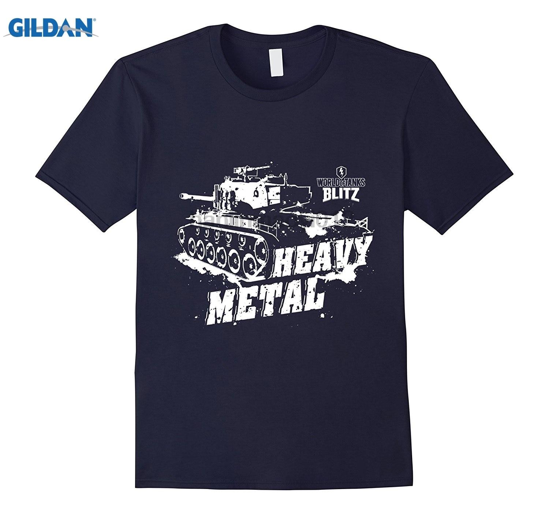 GILDAN World of Tanks Blitz Heavy Metal T-Shirt dress T-shirt