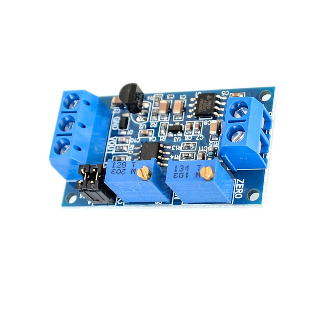 Current To Voltage Module 0/4-20Ma To 0-3.3V5V10V Voltage Transmitter Signal Conversion Conditioning