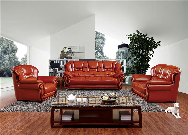 US $926.0 |Whole sale big lots of sofa set in leather living room furniture  corner lounge chair for home use-in Living Room Sofas from Furniture on ...