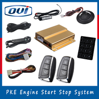 Brand New Car Engines One Way Door Locks Keyless Go Push Button Start Stop With Keyless