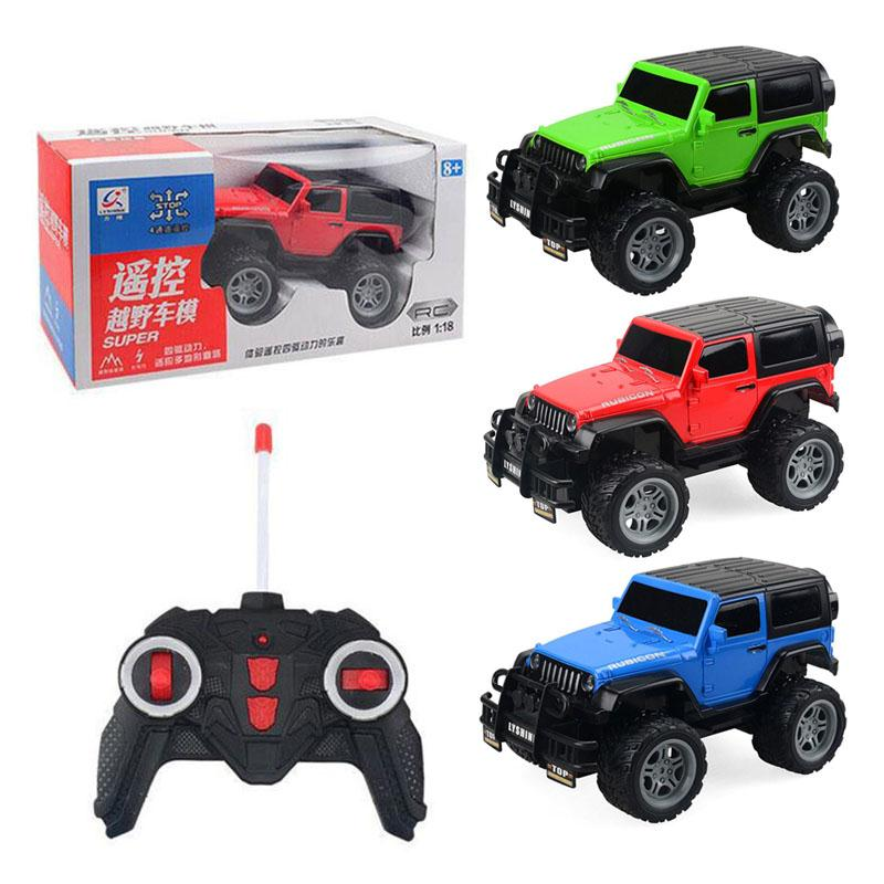 Electric Climbing Car Off Road Truck Toy 1:18 RC Car Infrared RC Car Game Playing with Remote Control
