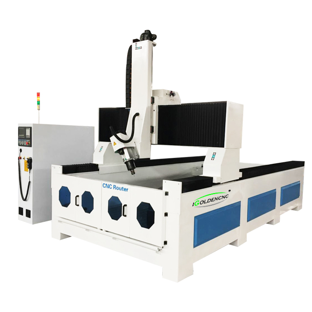 Popular 3D 4 Axis EPS Foam CNC Router Engraving Cutter Machine For Wood Statue Sculpture Making