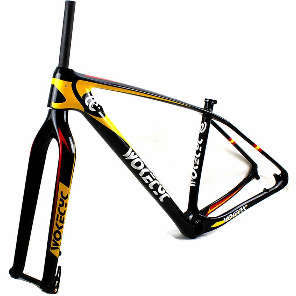 Mtb-Frame Carbon-Fiber Front-Fork Mountain-Bicycle Thru-Axle 29er PF30 12x142mm 15x100mm