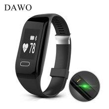 UWATCH Smart Bracelet Pedometer Heart Rate Monitor Sports Track Fitness Bracelet BT 4.0 IP67 Waterproof Smart Bracelet