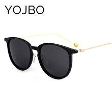 YOJBO Brand Designer Sunglasses Women Morrior Ray Polarized Glasses Luxury Vintage Retro Fashion Alloy Frame Real UV400 Round