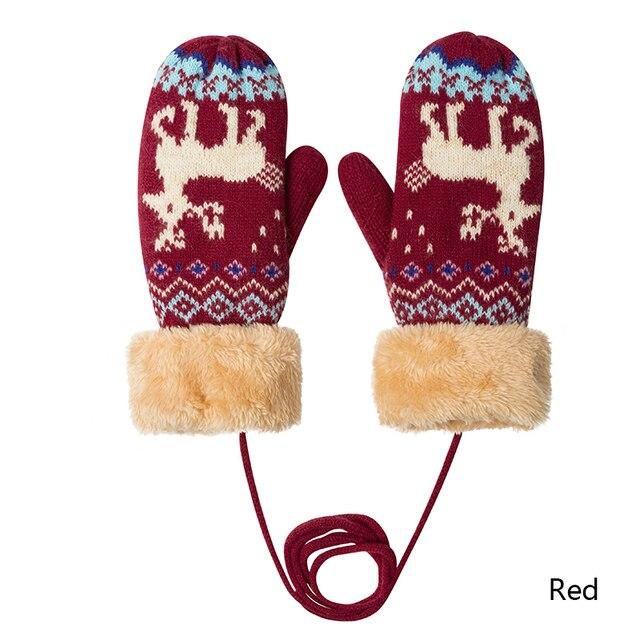Χειμερινά βρεφικά γάντια με σχέδιο cartoon Παιδικά Ρούχα Ρούχα MSOW