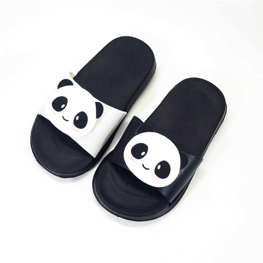 6fec4e3ef56a4 KINE PANDA Indoor Children Slippers Girls Boys Little Kids House Shoes Cute  Panda Soft Toddler Baby