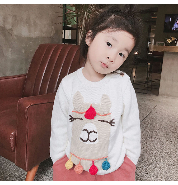 Llama Hook Ball Sweater 5
