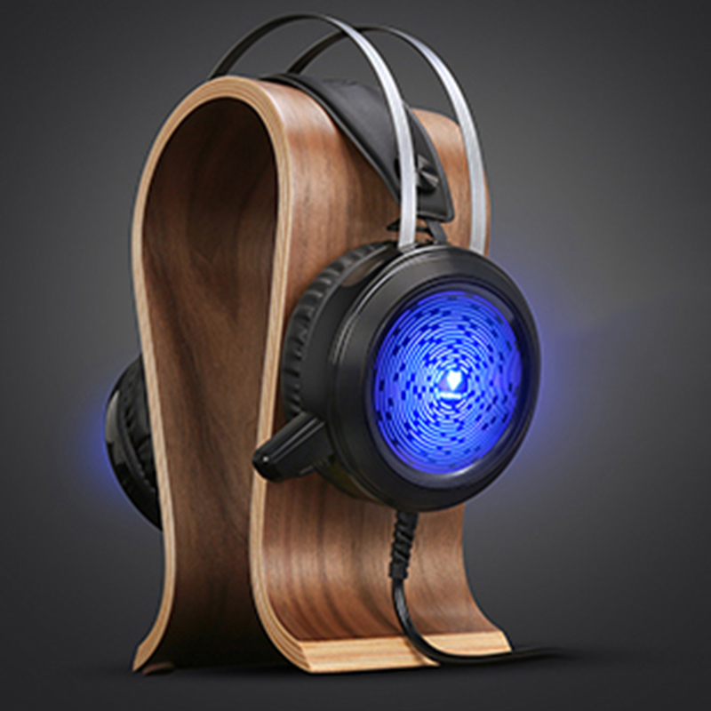 Wired Gaming Headset noise cancelling Game Earphone Computer headphones with microphone led light headphones for computer pc
