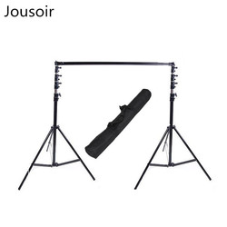 Large mobile background frame 3.8m high and 3.2m wide telescopic horizontal bar with clamp CD50