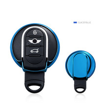 цена на Free Shipping Car-Styling Auto Protective Key Cover TPU Case Shell For BMW Mini Cooper S JCW F54F55 F56  R56 R57 R58 R59 R60 R61