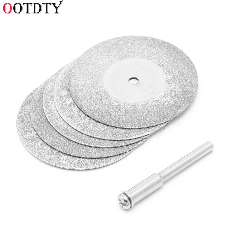 5pcs/lot Dremel Accessories Diamond Grinding Wheel Saw Circular Cutting Disc Dremel Rotary Tool Diamond Discs