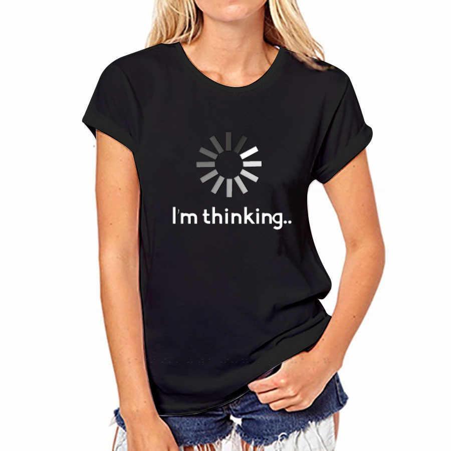 CDJLFH 2017 verano Top Camisas Mujer camiseta Graffiti impresión Camiseta talla grande Camisetas moda blanco negro S m, L, XL, XXL