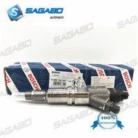 4 PCS Original new fuel injector common rail injector 0445120157  504255185