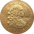 Португалия 1751 8 Escudos Ferdinand VI Монета КОПИЯ 37 мм - фото