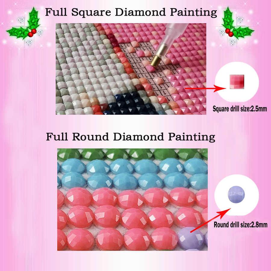 5D DIY Алмазная картина Роза невеста красота вышивка крестиком полный квадратный дрель Алмазная вышивка распродажа круговая мозаика горный хрусталь деко