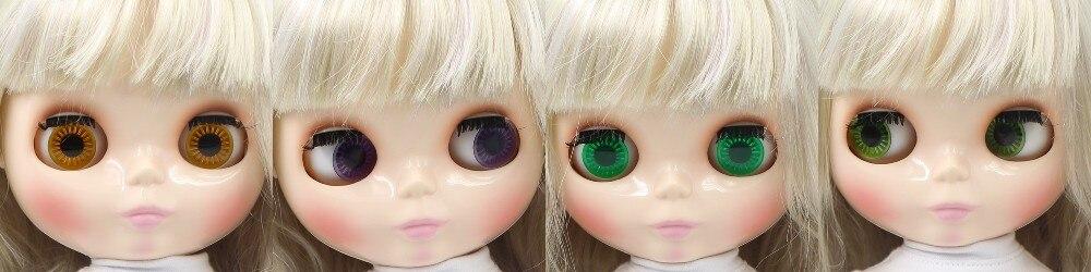 Neo Blythe Doll Blonde Hair Fat Body 1
