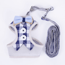Anti-breaking tying cat rope cat collar /collar gato chest strap vest type chain cat rope