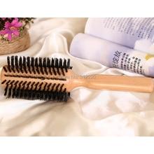 """Розница диаметр 2,"""", 6 см, деревянный кабан расческа-щетка, бука 50% помазок щетка/щетка для волос Расческа натуральная щетина"""