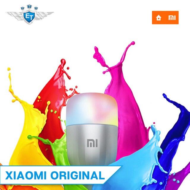 Xiaomi LED Smart Bulb Colorful Version APP WIFI Remote Control 10W 800 Lumens 16 Millions Color Temperature Lamp