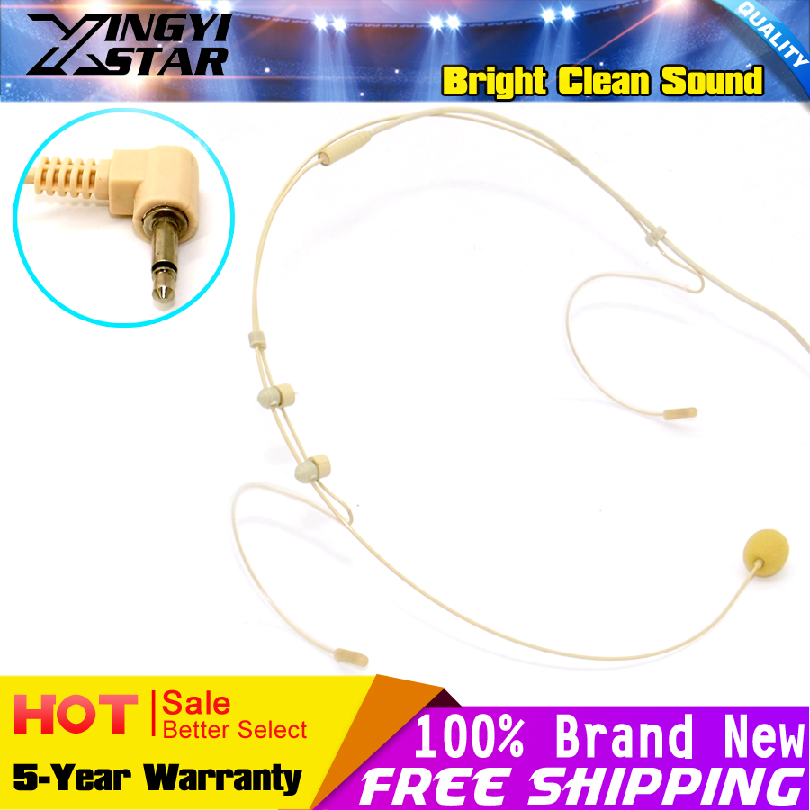 compare prices on star interview online shopping buy low price invisible flesh color 3 5mm jack plug earhook headset microphone head worn mic for wireless system
