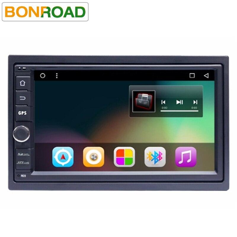 imágenes para Bonroad C2L66 Android 6.0 1024*600 Tablet PC Del Coche 2 din 2 Universal Para Nissan Navegación GPS Radio Stereo Audio Player (Sin DVD)