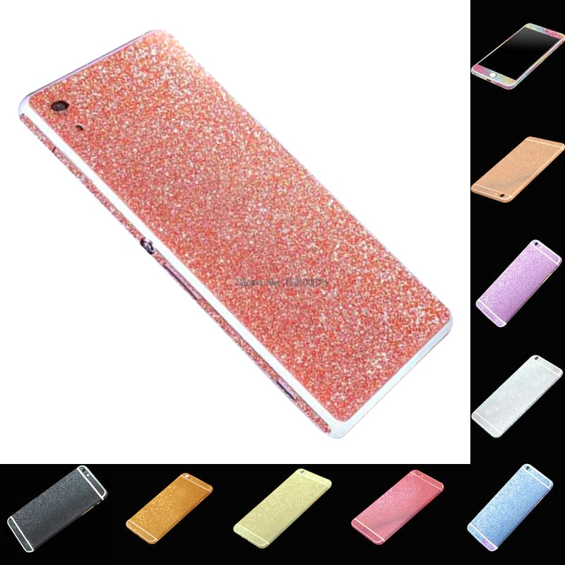 HOLAZING Full Body Glitter Bling Sticker Sony Xperia Z2 Strass Ultrathin Luxury Skin Slim Fit Case Cover  -  MissWendy store