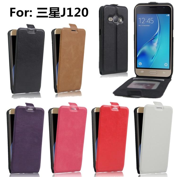 Para J1 6 Fundas con tapa para Samsung Galaxy J1 2016 J1 (6) J120F - Accesorios y repuestos para celulares - foto 2