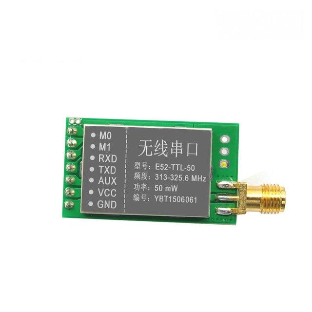 Пульт дистанционного управления частота E52-TTL-50 315 МГц 50 МВт long range uart rf модуль приемопередатчика