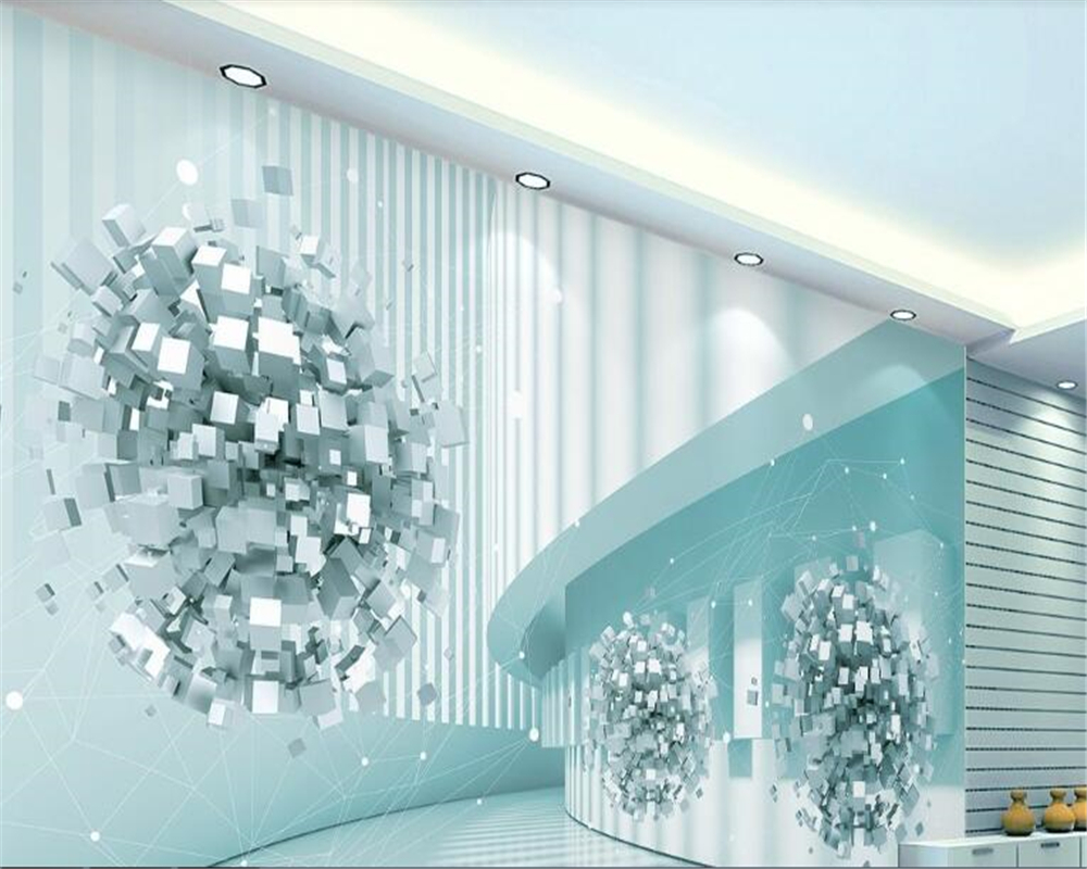 beibehang 3d wallpaper Abstract architectural photo TV background home decoration wall papers decor