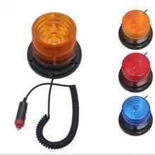 DC12V горячая Распродажа Магнитный Мобильный Предупреждение проблесковый маяк безопасности стробоскоп аварийный светильник полиции светильник s красные, синие желтый Цвета