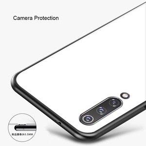 Image 4 - Tempered Glass Case For xiaomi mi 9 se mi 9 global Case Soft Frame Hard Glass Back Cover For xiaomi  MI9 global Mi9se Shockproof