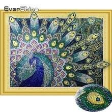 EverShine Diamond Painting Peacock Special Shape Round Drill DIY Diamond  Embroidery Set Handicraft Art Diamond Mosaic Animal 95e8b73d8f40