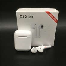 i12 Tws Wireless Bluetooth 5.0 Touch Control Earphones