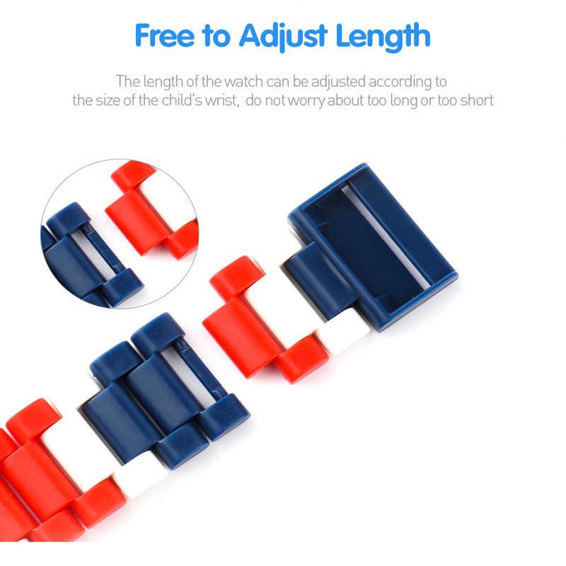 スーパーヒーロー腕時計ビルディングブロック Ninjagoed 不思議アベンジャーズフィギュアレンガのおもちゃと互換性 Legoed Minecrafted ブロック腕時計