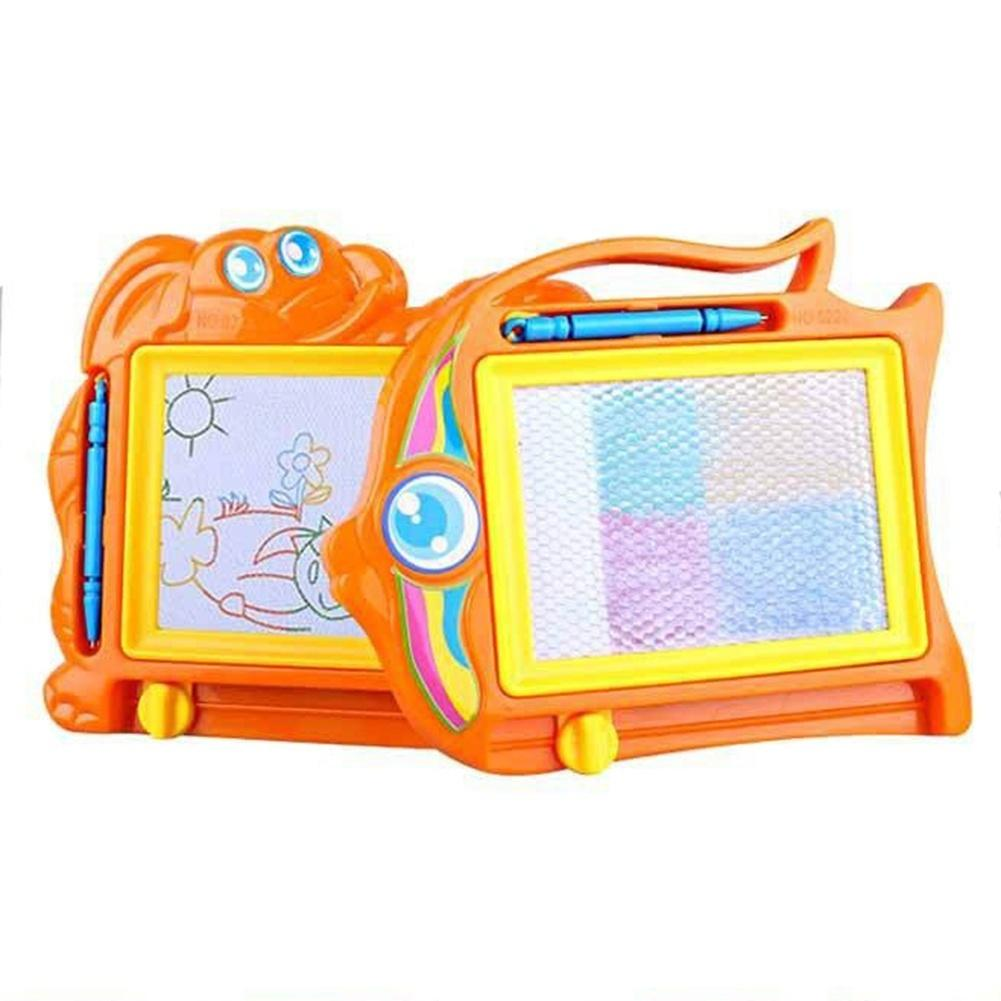 Cartoon Pattern Baby Kids Erasable Magnetic Writing Drawing Board Child Toy 2019NEW