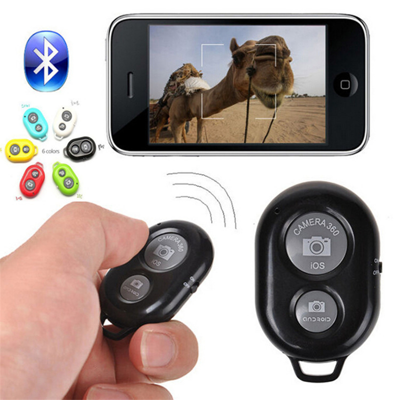 iphone camera timer universal wireless bluetooth remote shutter 11696