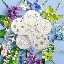 Aouke Blume Pro Ultimative Füllstoff Silikon Dekorieren Formen Kuchen Silikon Form Zuckerpaste Candy Schokolade Gumpaste Ton Form