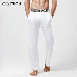 Hommes de Modal Pyjamas Pantalon Confortable Mâle Long Johns Homme Voir À Travers Sommeil Bas 5XL 6XL Tous Les Jours Cuecas Sous-Vêtements G-3007